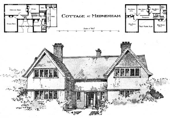 1904 &#8211; Cottage, Medmenham, Buckinghamshire