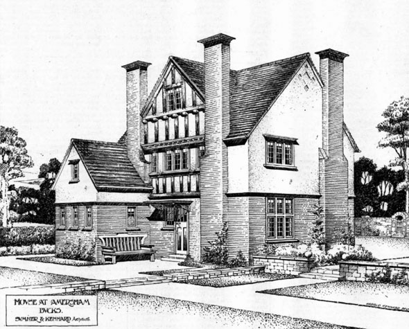 1906 &#8211; House at Station Parade Estate, Amersham, Buckinghamshire