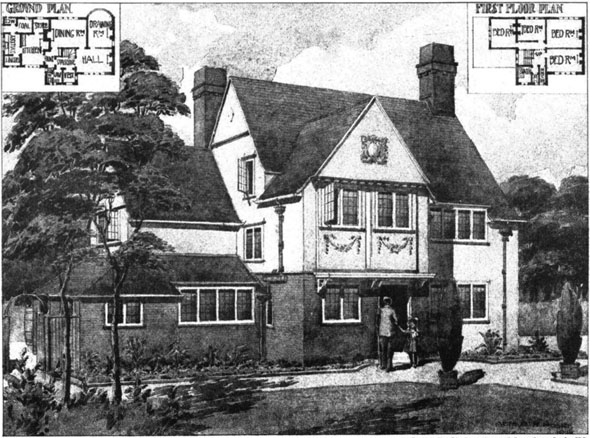 1906 &#8211; House, Uxbridge, Buckinghamshire