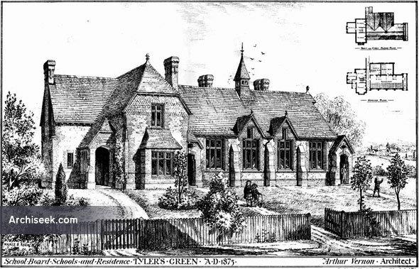 1876 – Schools & Residence, Tylers Green, Buckinghamshire