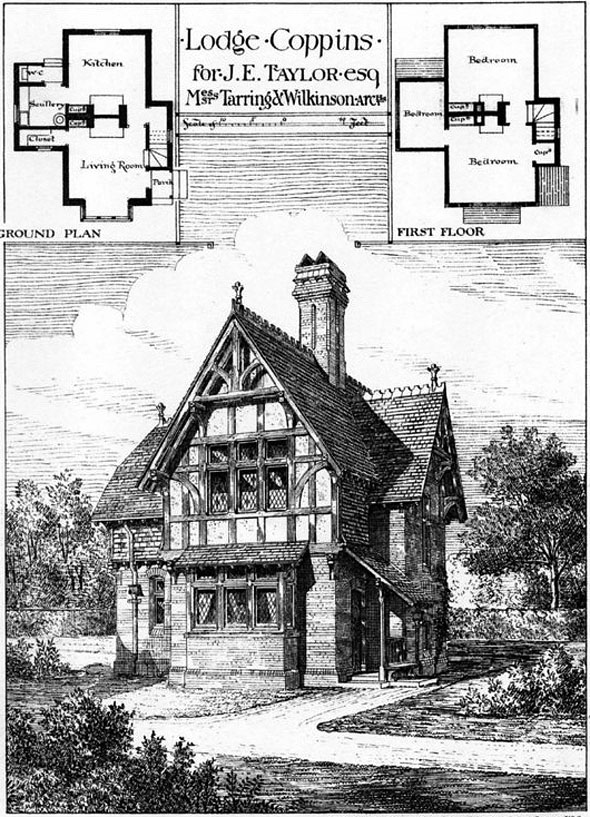 1879 &#8211; Lodge, Coppins, Iver, Buckinghamshire
