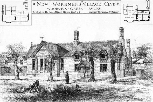 1880 – Workmans Village Club, Wooburn Green, Buckinghamshire