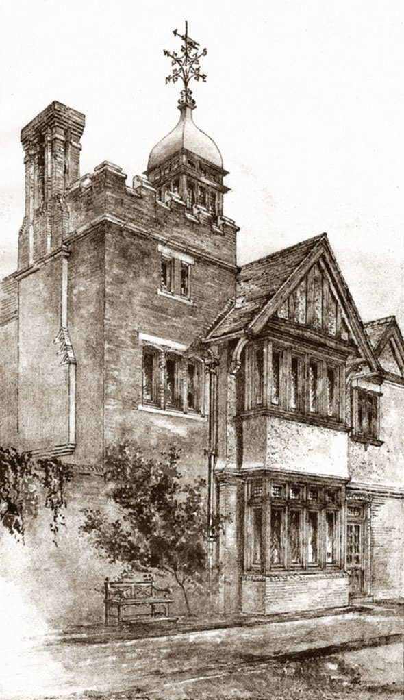 1885 – Carton Tower, Stoke Poges, Buckinghamshire