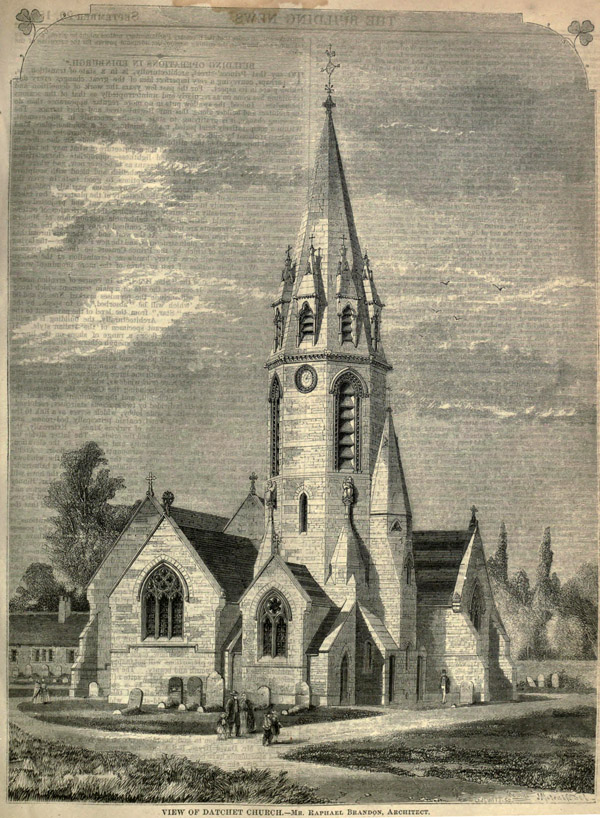 1860 – Church of St. Mary the Virgin, Datchet, Buckinghamshire