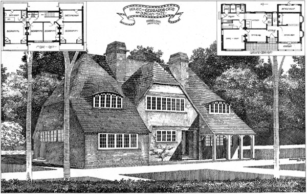 1908 &#8211; House at Gerrards Cross, Buckinghamshire