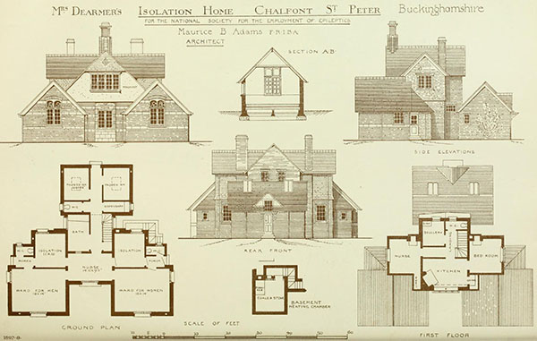 1898 – Isolation Home, Chalfont St. Peter, Buckinghamshire