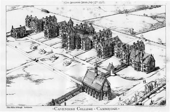 1878 &#8211; Cavendish College, Cambridge, Cambridgeshire