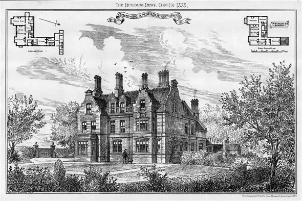 1878 &#8211; House at Cambridge, Cambridgeshire