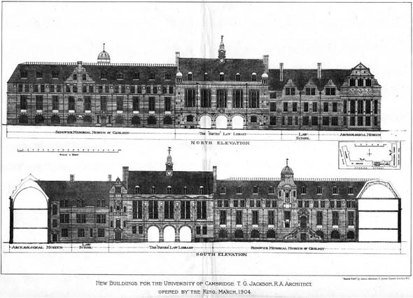 1904 – New Buildings, University of Cambridge, Cambridgeshire