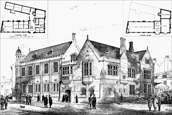 1876 – Proposed New Divinity Schools, Cambridge, Cambridgeshire