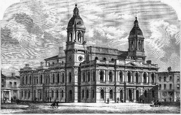 1860 &#8211; The Guildhall, Cambridge, Cambridgeshire