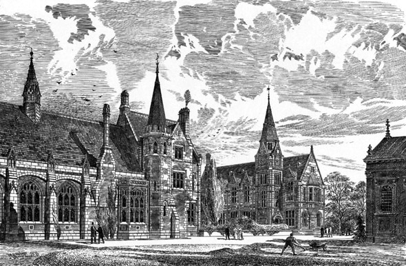 1880 – Pembroke College, Cambridge