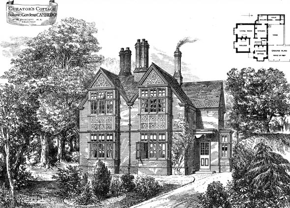 1881 – Curator's Cottage, Botanic Gardens, Cambridge