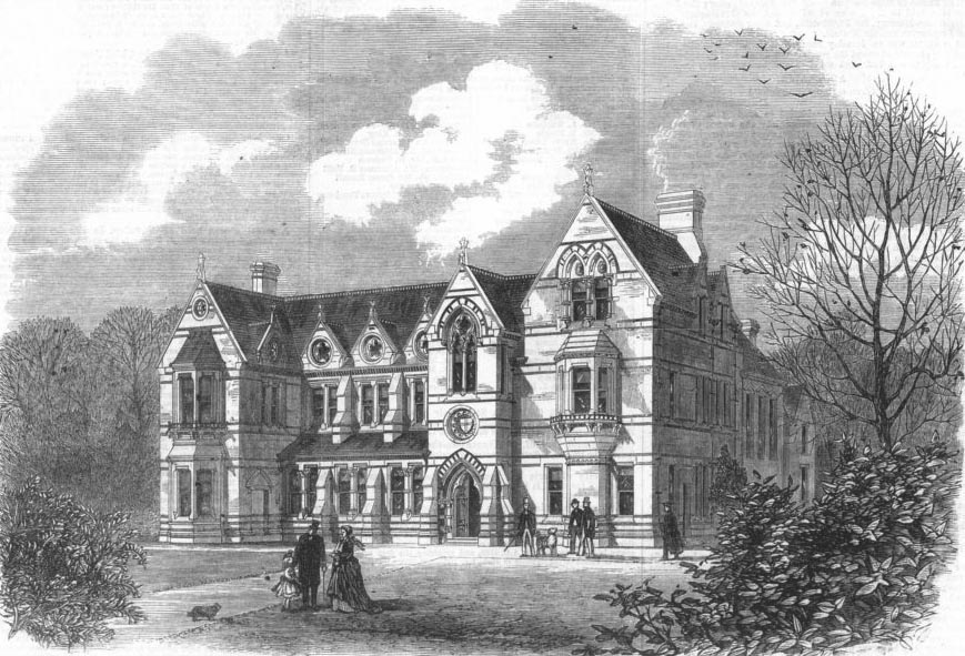 1866 &#8211; Cambridge Union Society Building, Cambridgeshire