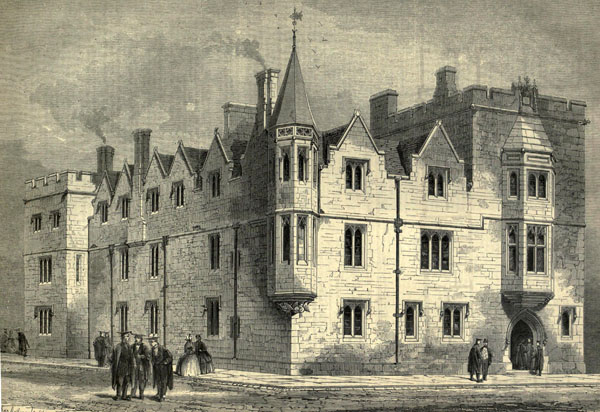 1860 &#8211; Whewell&#8217;s Courts, Trinity College, Cambridge