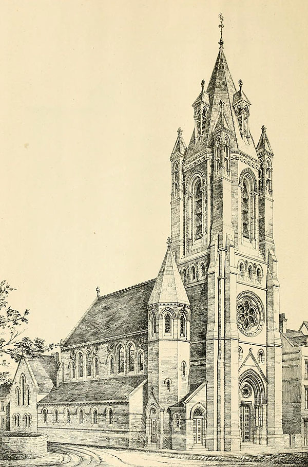 1874 &#8211; Congregational Church, Cambridge