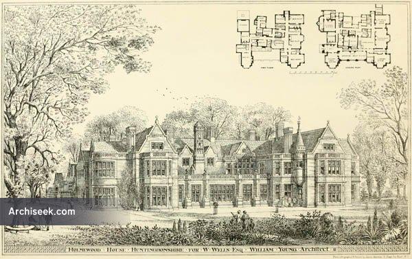 1874 – Holmewood Hall, Holme, Cambridgeshire