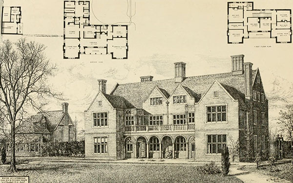 1880 – House at Cambridge, Cambridgeshire