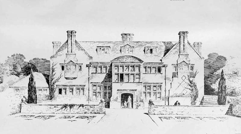 1898 – Houghton Grange, Huntingdon, Cambridgeshire