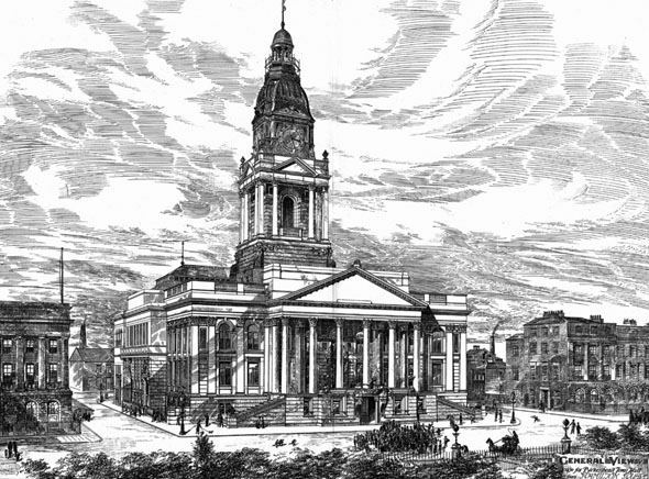 1882 &#8211; Birkenhead Town Hall, Cheshire