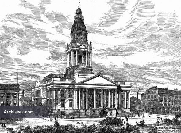 1882 – Birkenhead Town Hall, Cheshire