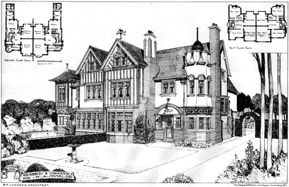 1906 &#8211; Residence, Congleton, Cheshire