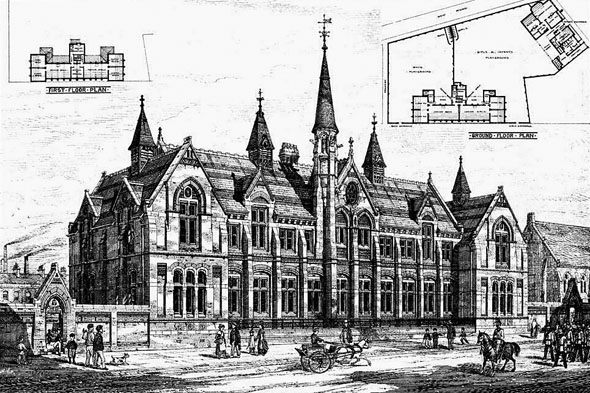1878 – Simms Cross Schools, Widnes, Cheshire