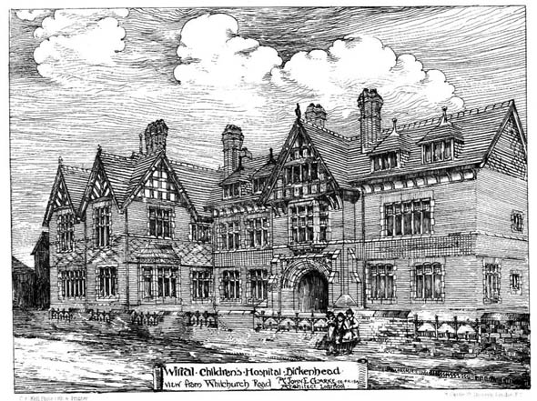 1884 &#8211; Wirral Childrens Hospital, Birkenhead, Cheshire