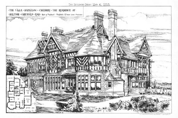 1885 &#8211; The Villa, Harkelow, Cheshire