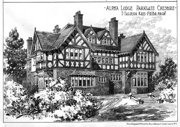 1903 &#8211; Alpha Lodge, Parkgate, Cheshire