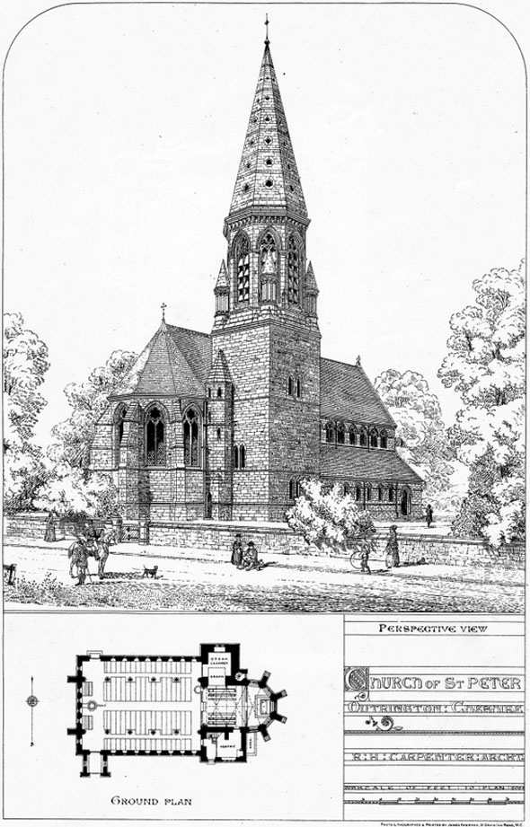 1872 &#8211; Church of St. Peters, Oughtrington, Cheshire