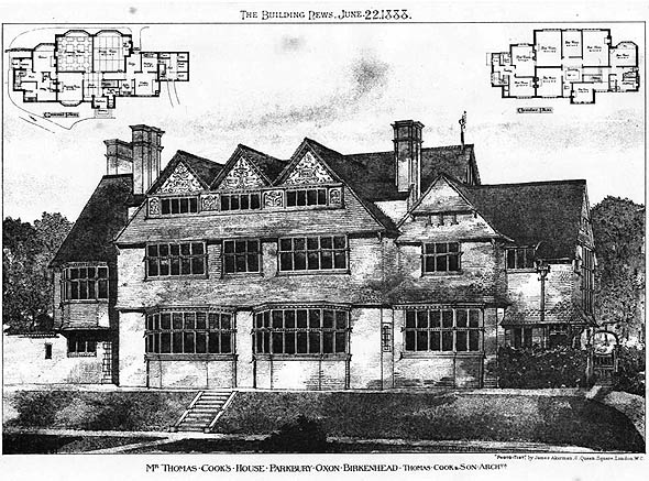1888 – House, Oxton, Birkenhead, Cheshire