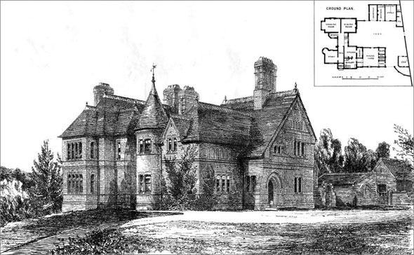 1873 &#8211; Agents House, Ruloe, Cheshire