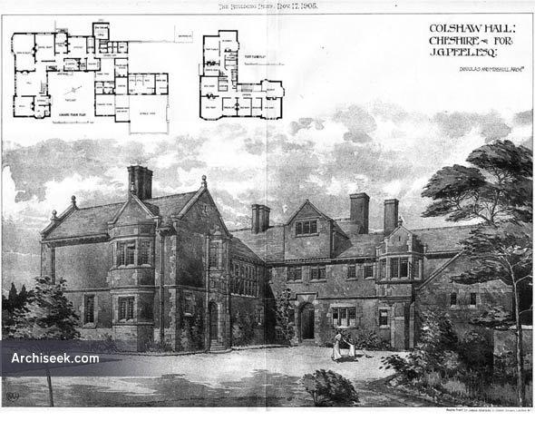 1905 – Colshaw Hall, Cheshire
