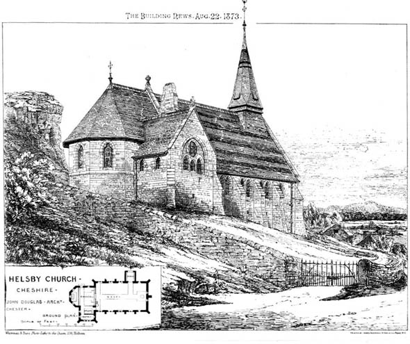 1870 – Church of SS. Peter & Paul, Helsby, Cheshire