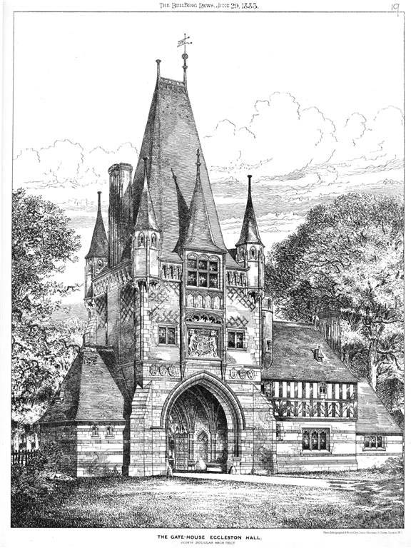1883 &#8211; The Gate House, Eaton Hall, Eccleston, Cheshire
