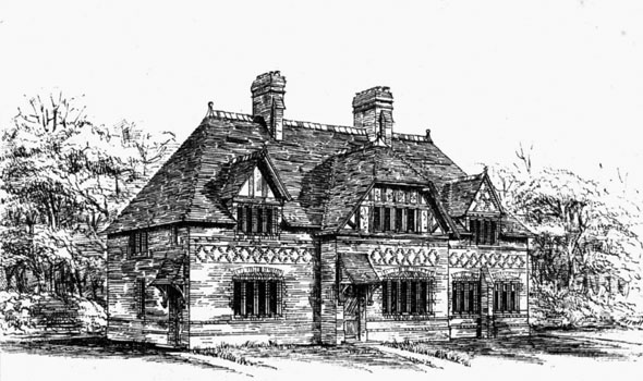 1875 – Cottages at Saighton, Cheshire