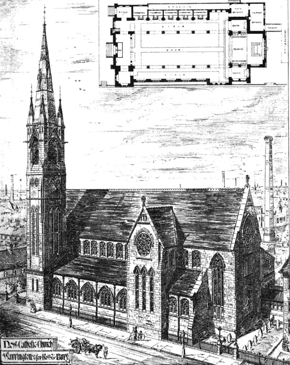 1875 – St. Mary's Church, Warrington, Cheshire