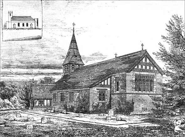1875 &#8211; St. Mary&#8217;s Church, Whitegate, Cheshire