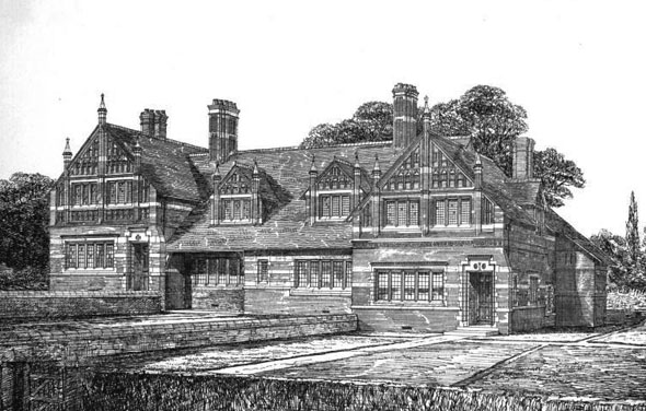 1875 &#8211; Houses for Servants, Eaton, Cheshire