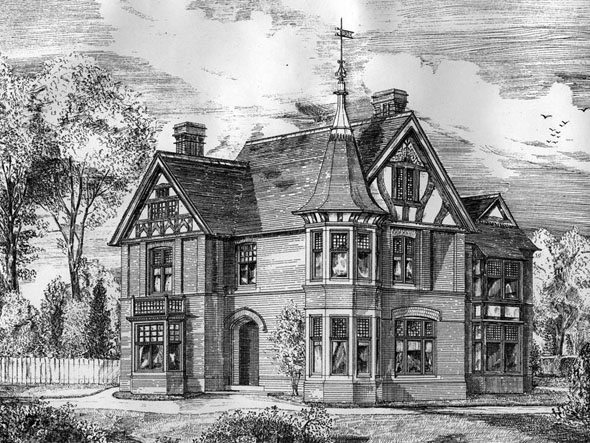 1884 &#8211; Residence at Hoole Road, Chester, Cheshire