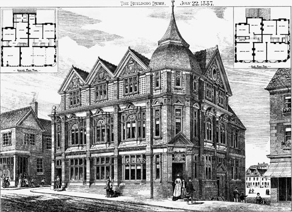 1886 – Post Office, Knutsford, Cheshire