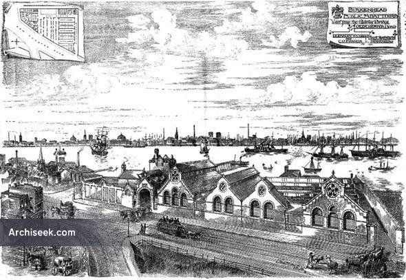 1886 – Birkenhead Public Abattoirs, Cheshire