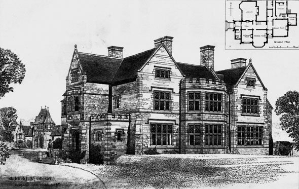 1887 &#8211; Oakfield, Chester, Cheshire