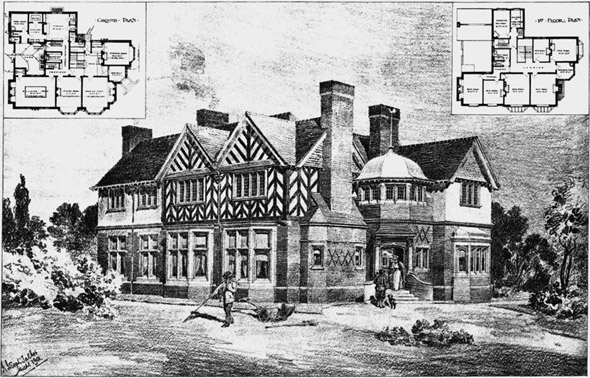 1902 – House at Alderley Edge, Cheshire