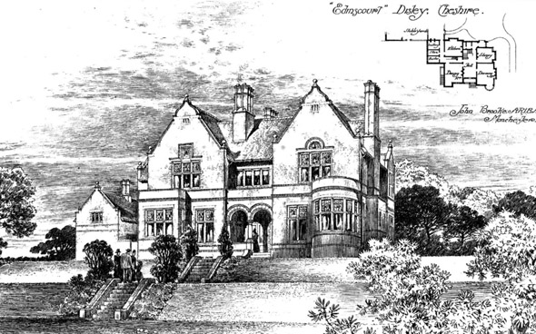 1893 &#8211; &#8220;Edinscourt&#8221;, Disley, Cheshire