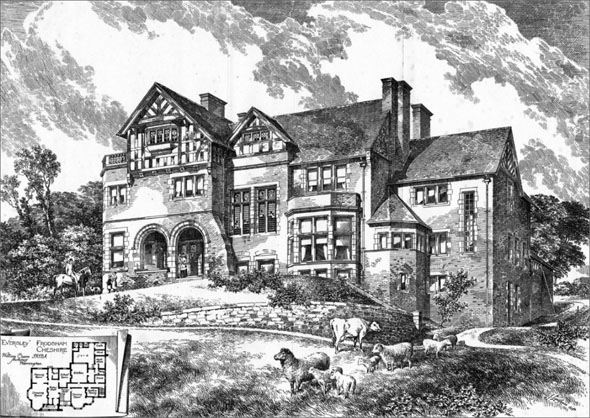 1892 – 'Eversley', Frodsham, Cheshire