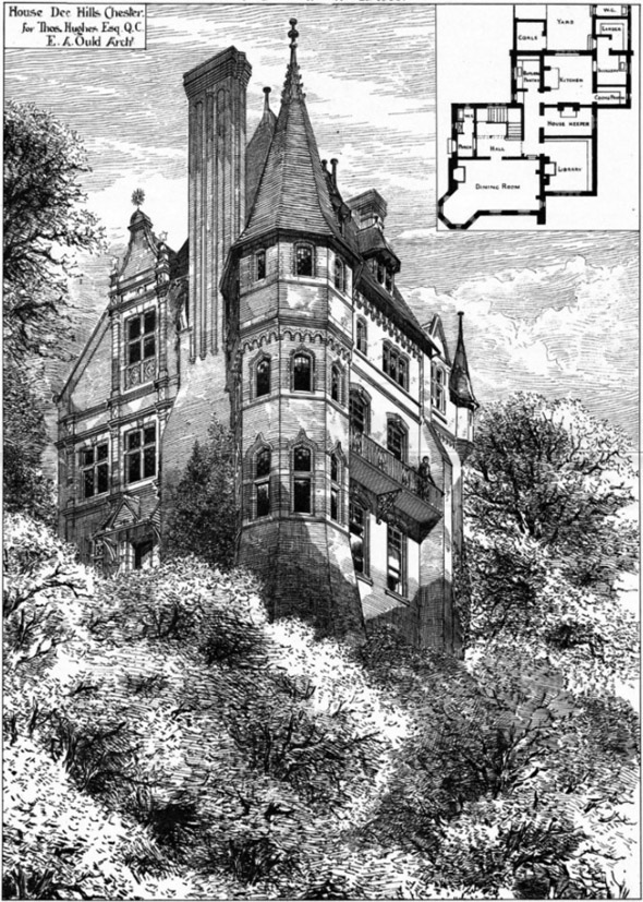 1885 &#8211; Uffington House, Chester, Cheshire