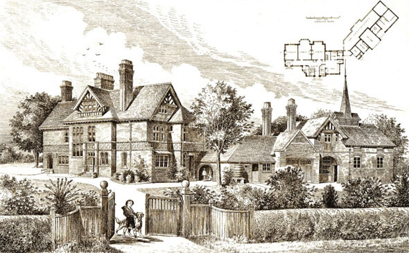 1893 &#8211; High Peak House, Kenyon, Cheshire