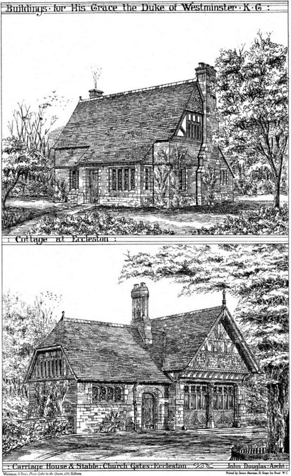1875 &#8211; Cottage &#038; Stables, Eccleston, Cheshire